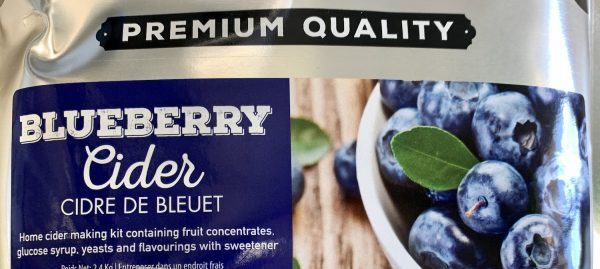 Blueberry Cider
