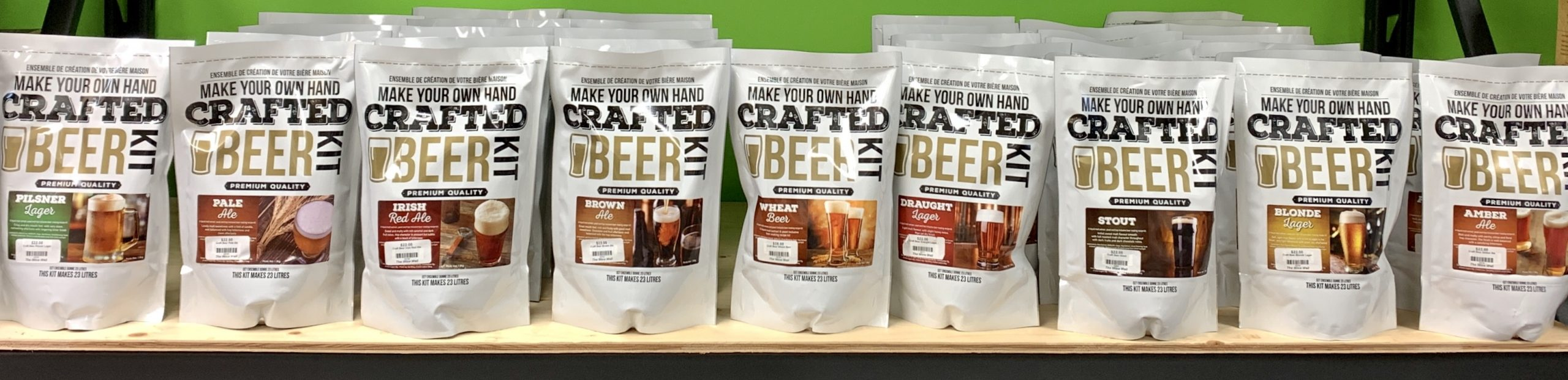 crafted beer kit all