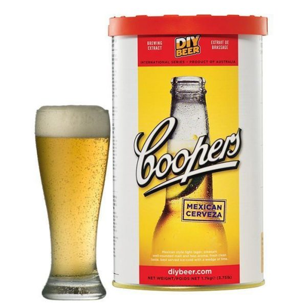 coopers mexicain cerveza