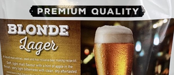 crafted blonde lager