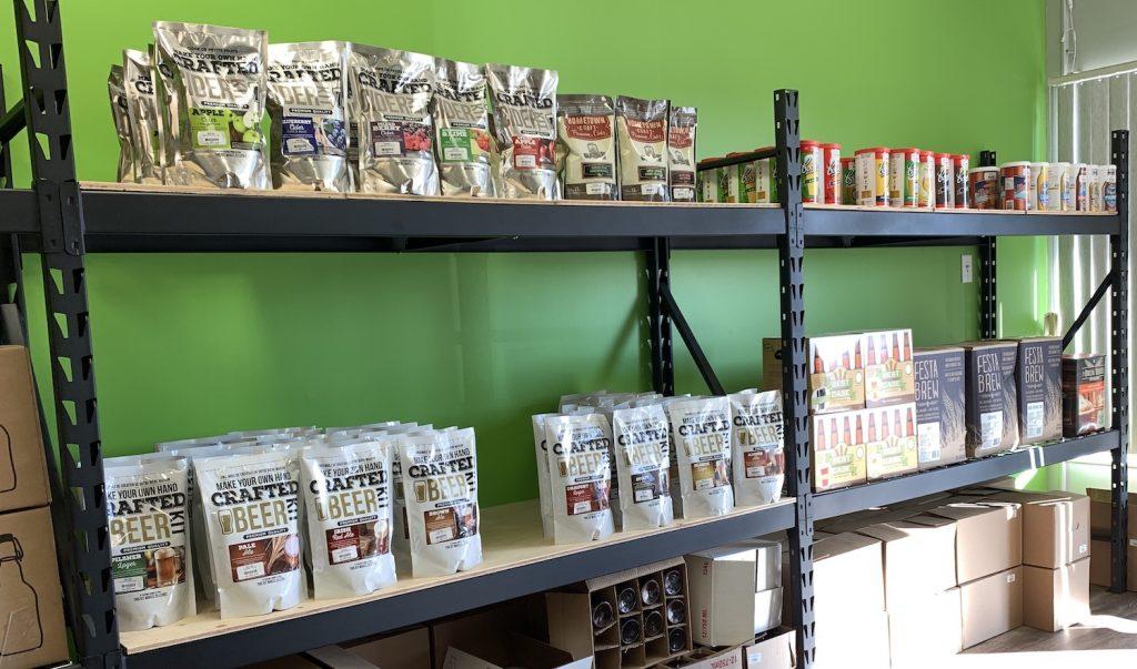 beer barrel kits shelf
