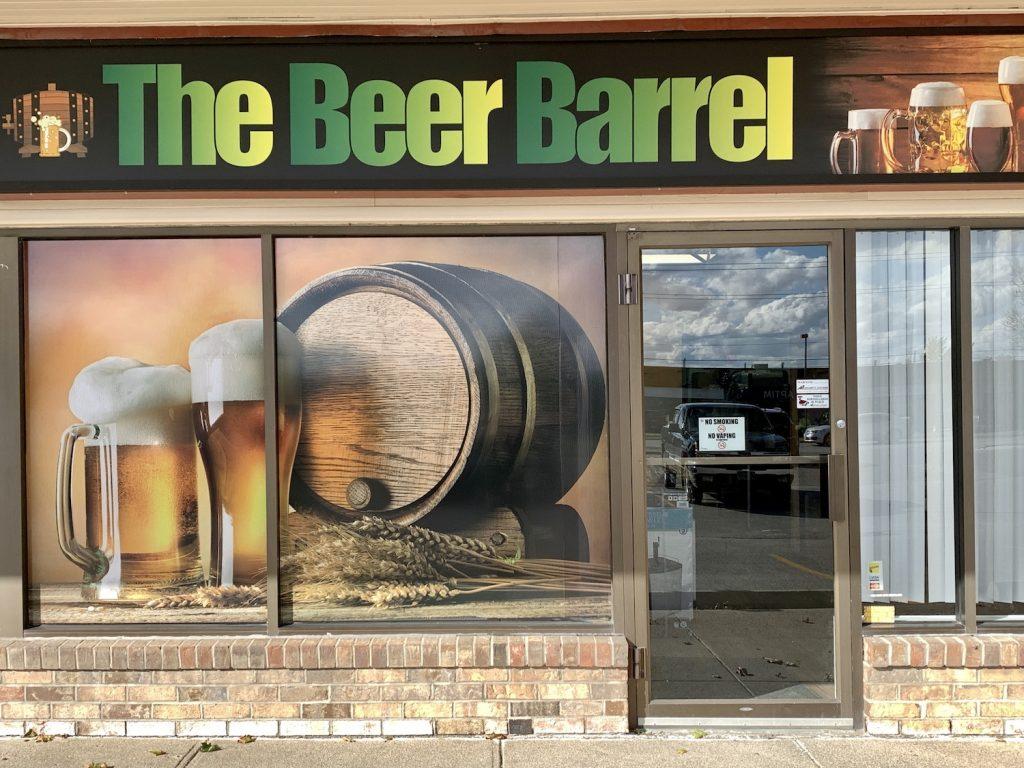 the beer barrel door