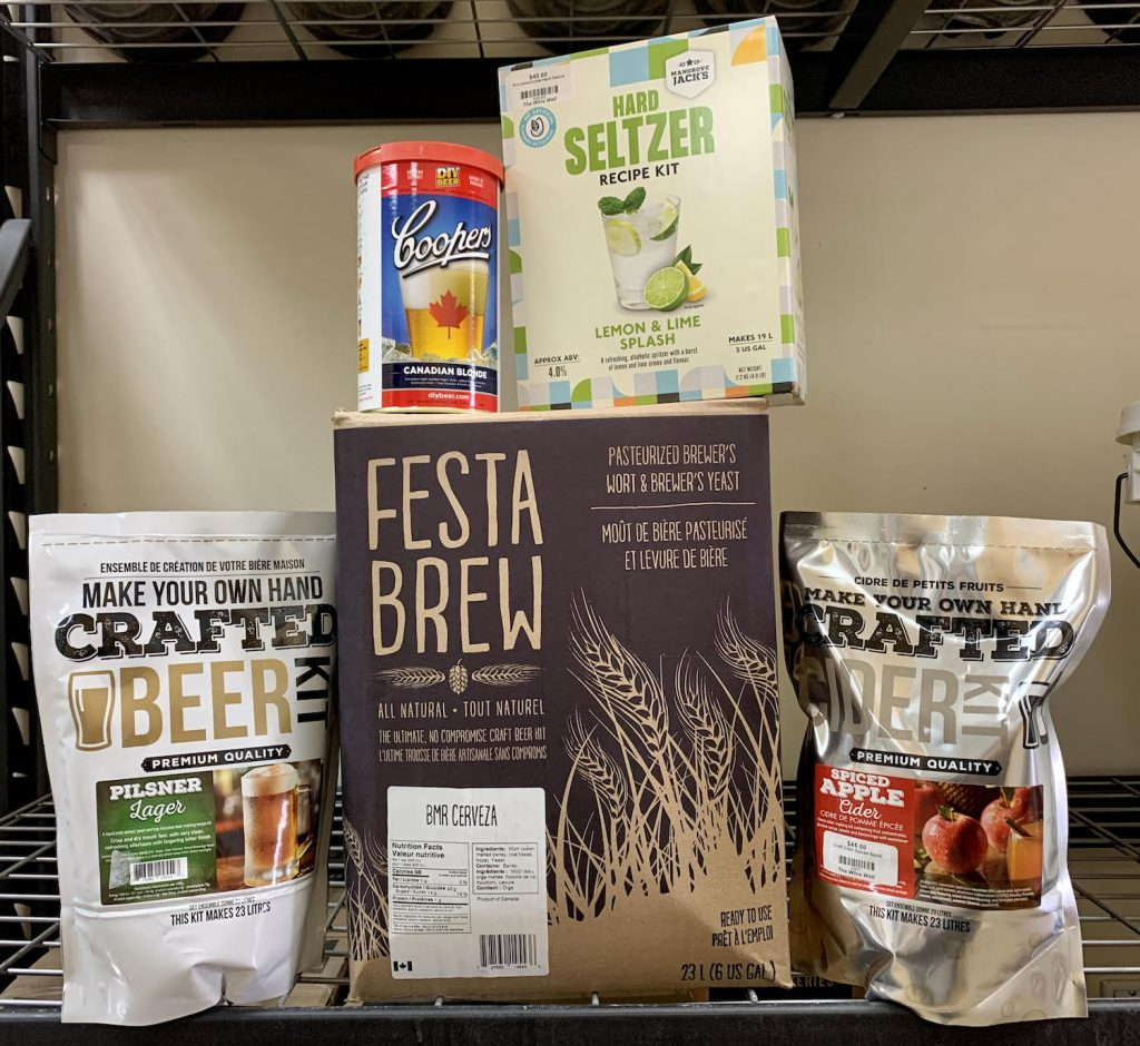 BEER CIDER AND SELTZER KITS